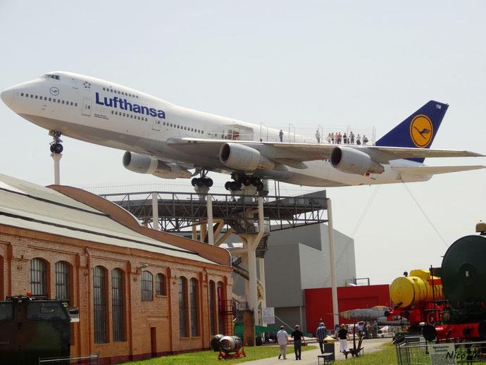 B747-200 der Lufthansa