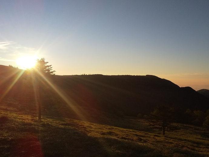 朝の美ヶ原