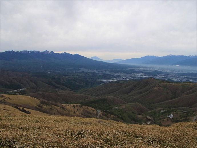 車山から八ヶ岳~富士山~南アルプス