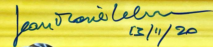 Autograph Jean-Marie Lehn Autogramm