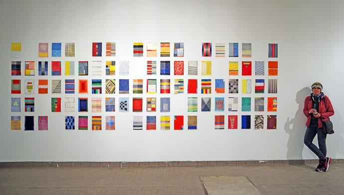 Kunst zwischen Farbfeldmalerei und Konkret