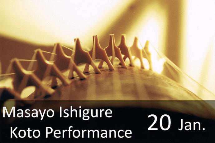 Koto Performance by Masayo Ishigure