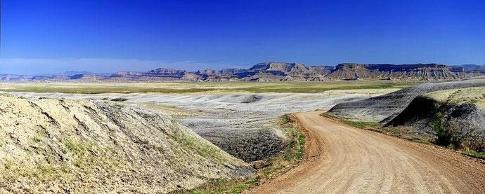 Die Wüste kurz vor Green River