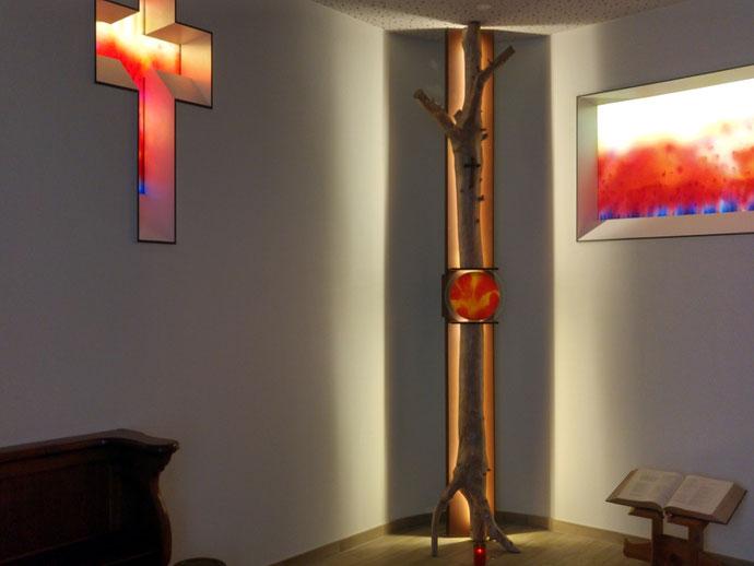 Sylvie Lander-peinture-vitraux-couleurs-abbaye-Baumgarten