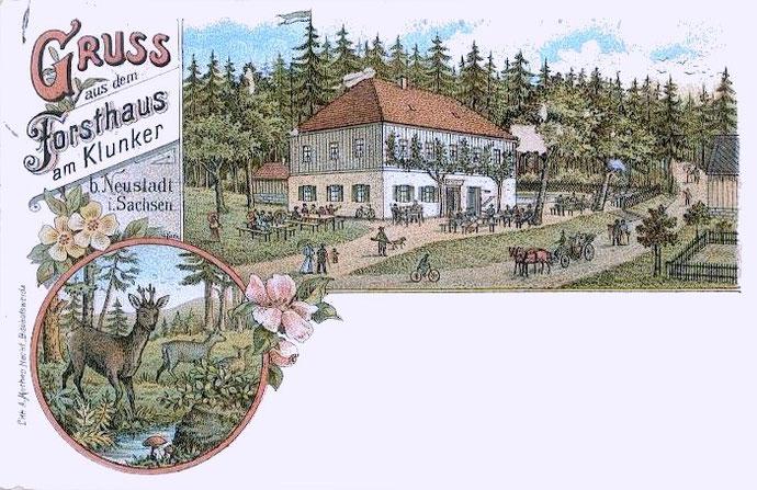 Ansichtskarte aus dem Jahre 1900