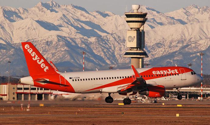 G-EZON A320-214 6605 easyJet@ Milano Malpensa Airport 29.12.2017 © Piti Spotter Club Verona
