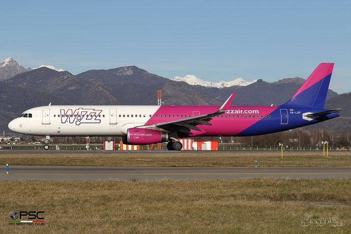 HA-LXP A321-231 7578 Wizz Air @ Bergamo Airport 01.2018 © Piti Spotter Club Verona