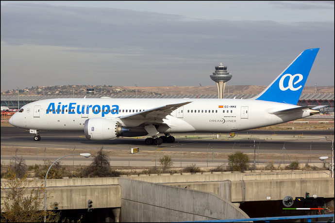 EC-MMX B787-8 36415/505 Air Europa @ Madrid Airport 23.11.2017 © Piti Spotter Club Verona
