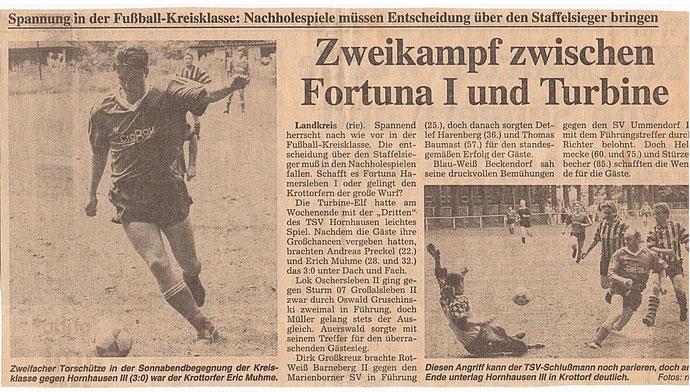 Aufstieg Saison 93/94