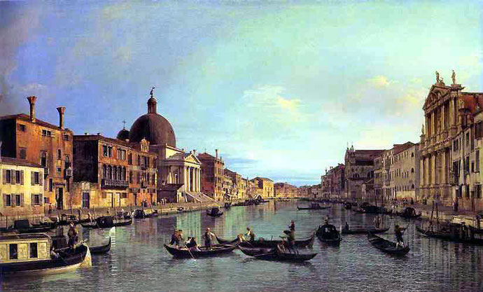 Canaletto, Grand Canal, Venise