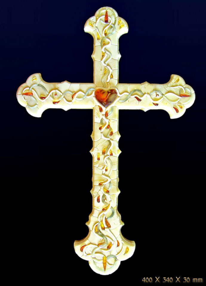 The amber Cross