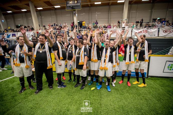 Das Special Needs Team von Admira nahm am 4. Spielerpass Turnier teil