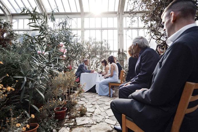 heiraten im Botanischen Garten Berlin