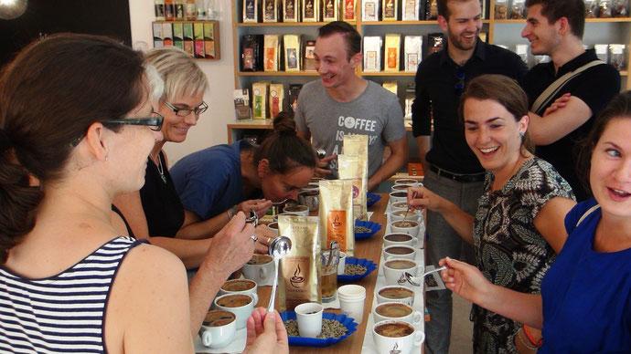 Kaffeeverköstigung