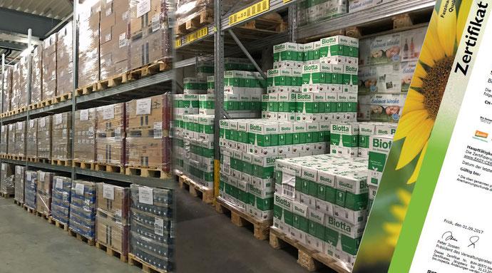 Lebensmittel Lager Lebensmittellager HACCP