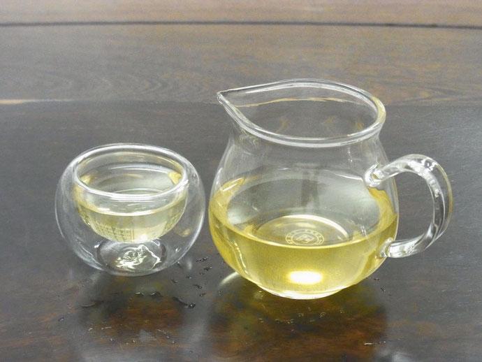 安溪鉄観音と桂花茶のブレンド