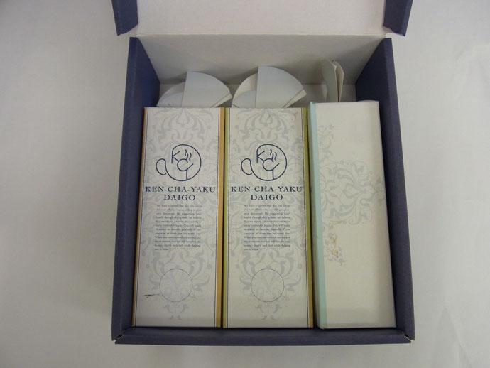 ギフトボックス(お茶3本)