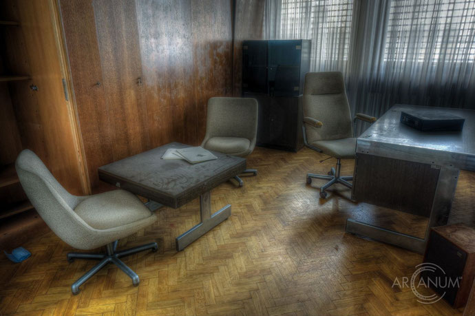 Abandoned Embassy of Yugoslavia in Germany