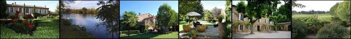 Espaces jardin, terrasses, Tarn à Touny les Roses