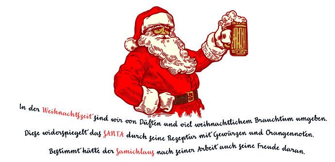 Santa Weihnachtsbier Buchser Landbier Herzogenbuchsee