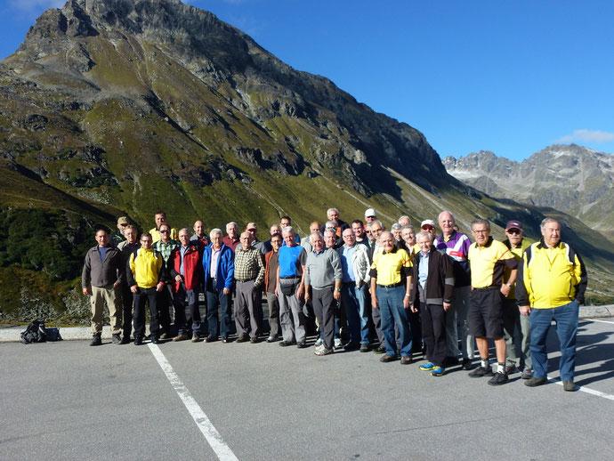 Turnfahrt 2014, Bielerhöhe Österreich