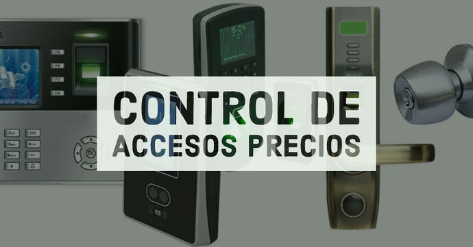 Control de accesos precios