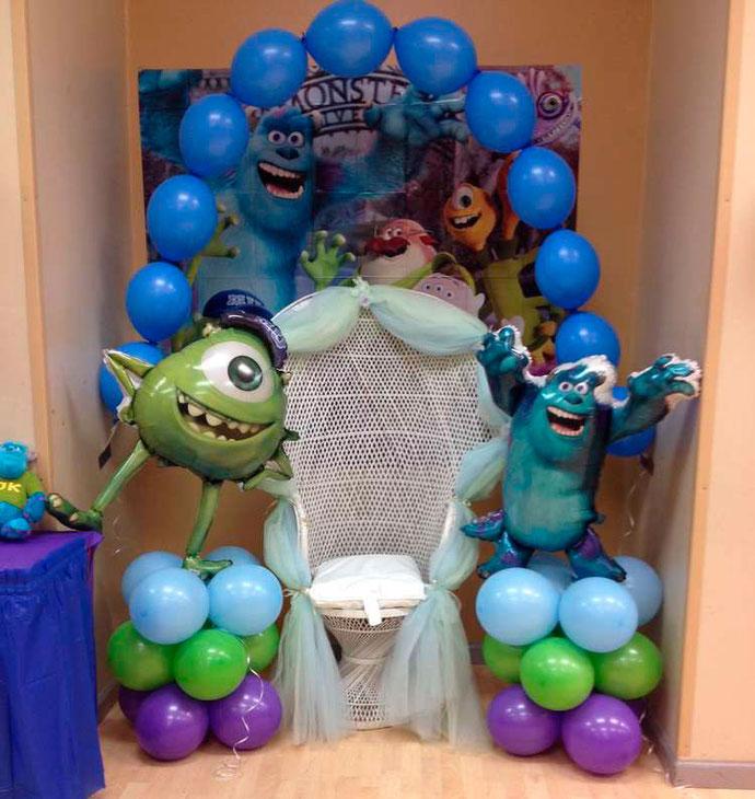 decoracion fiesta monsters inc