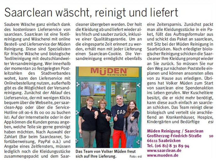 BLOG, Saarbrücker City Journal, Bild Saarclean
