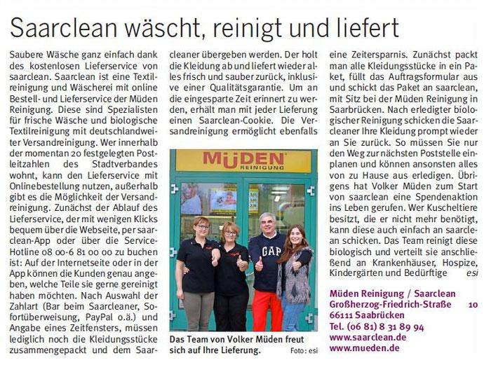 BLOG, Saarbrücker City Journal, Bild Saarclean