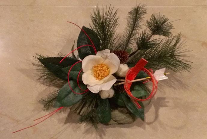かわいいハマ矢のお正月飾り