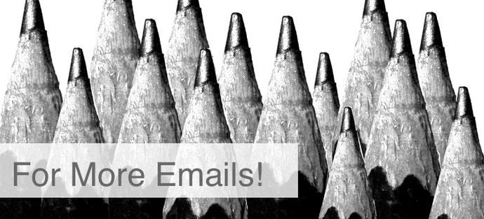 メールアカウント数増加
