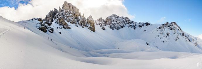 Lizum Freeride Innsbruck Tirol Austria Skifahren Snowboard Freeride Division Skischule LVS Training Powder Freeskiing Touren  Schneeschuwandern