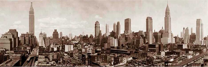 New York skyline, 1931