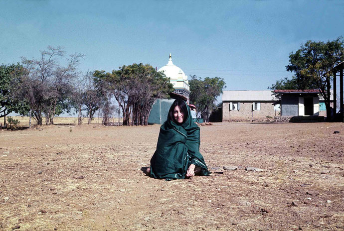 Sher at Upper Meherabad - Jan. 1975 : Photo taken by Tony Zois