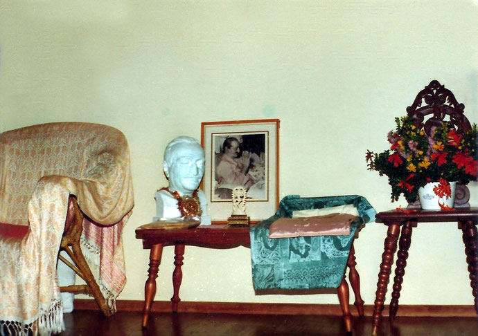 1970s ; Meher House's Baba artifacts