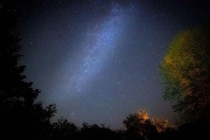 Überm Haus | Der Sternenhimmel ist ne helle Freude