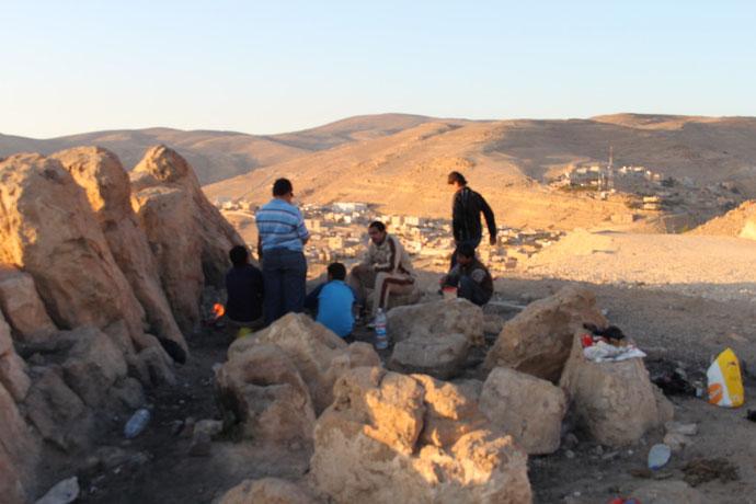 Picknick auf jordanisch.