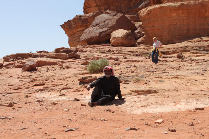 Nochmal unser beduinischer Jeepfahrer.