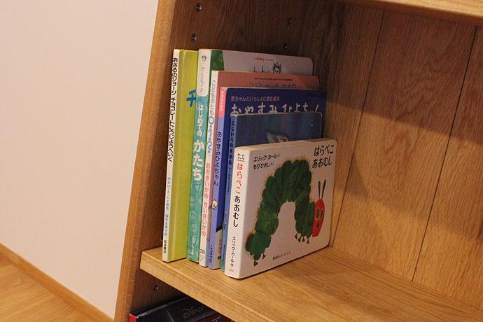 特注の本棚(川崎市・K様邸)