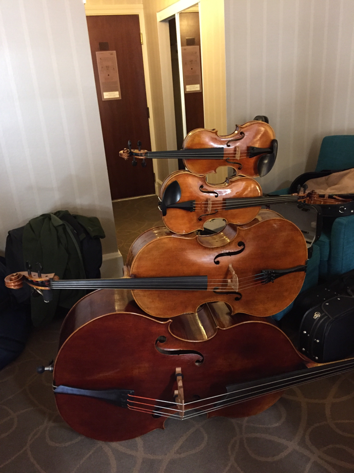 Quartet built for Violin Society of America 2016, Cleveland, OH