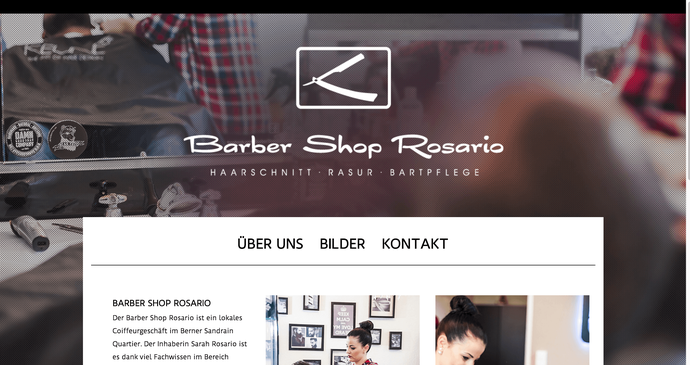Example Hair Salon Websites