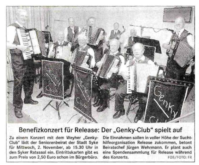Weser-Kurier vom 14. 10. 2005