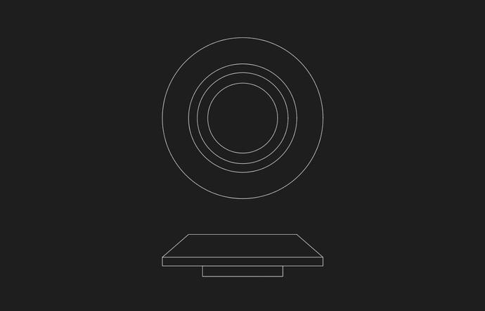 パイロットランプ図面(M2タイプ ビンテージクラスター):RSプロダクツ