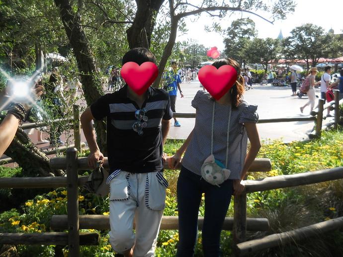 ディズニーカップル