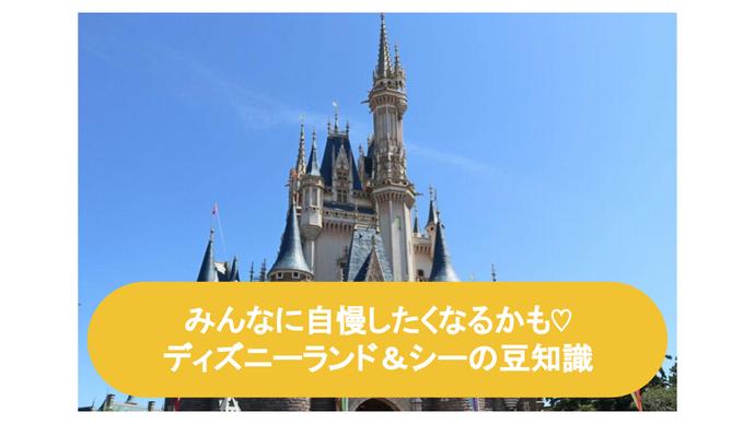 ディズニーランド&シーの豆知識