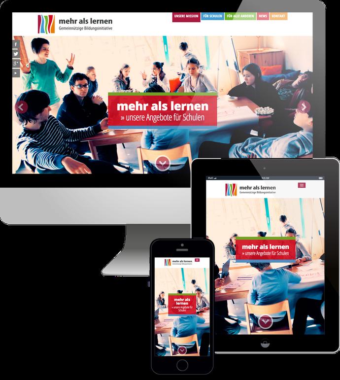 Jimdo responsive Web Design Mehr als Lernen Berlin
