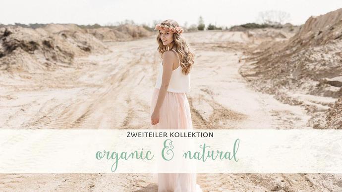 ORGANIC & NATURAL I elementar Brautkleider 2021 I natürlich, schlicht und nachhaltig