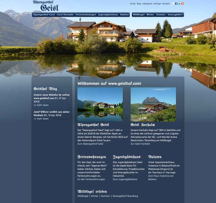 Website Geislhof.com