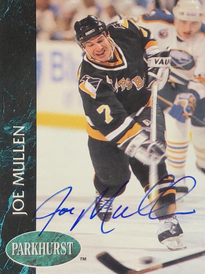 Autograph Joe Mullen Autogramm