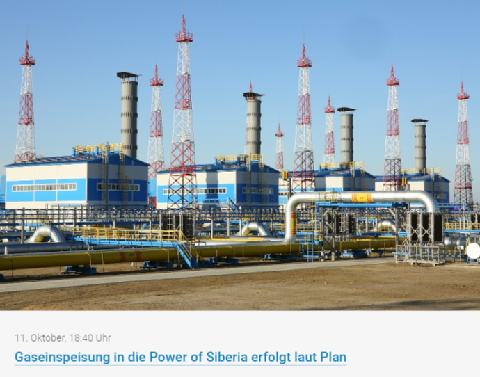 Aktienanalyse von Gazprom - Unternehemensvorstellung